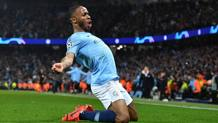 Raheem Sterling, attaccante del Manchester City. Afp