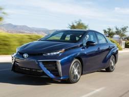 La Toyota Mirai a idrogeno  è prodotta dal 2015
