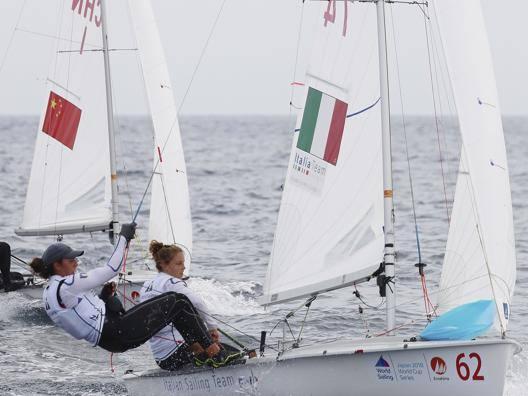 Benedetta Di Salle e Alessandra Dubbini . Ap