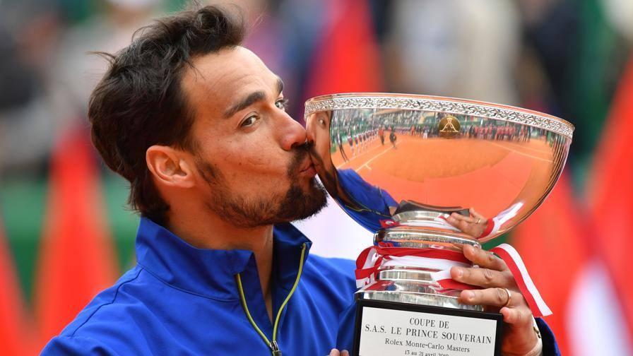 Tennis, il trionfo di Fognini secondo solo a quelli di Panatta a Parigi e Roma '76