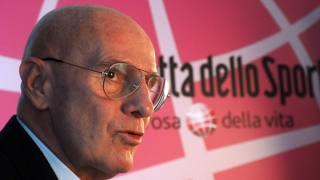 Arrigo Sacchi, 73 anni. Bozzani