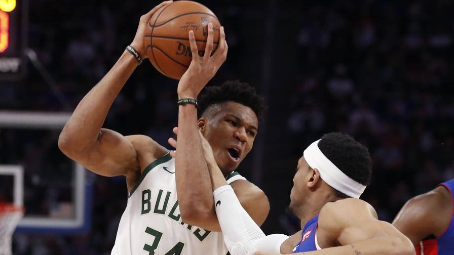 Giannis al top, festa Bucks 4-0 a Detroit e ora Boston