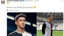 Il tweet del Fulham, poi rimosso