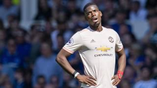 Paul Pogba, centrocampista 26enne del Manchester United. Epa