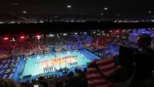 Il Pala Alpitour di Torino durante il Mondiale di pallavolo 2018. LaPresse