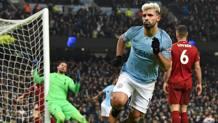 Un'immagine della sfida giocata tra Liverpool e City all'Etihad in questa stagione. Afp
