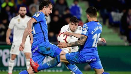 Un'immagine di Getafe-Real Madrid. AFP