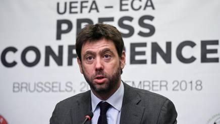 Andrea Agnelli, 43 anni, presidente dell'Eca e della Juventus. Afp