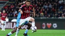 Patrick Cutrone, 21, attaccante del Milan. LaPresse