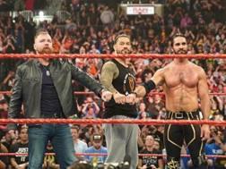 Dean Ambrose, Roman Reigns e Seth Rollins
