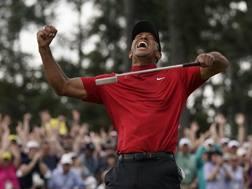 Tiger Woods, 43 anni. Afp
