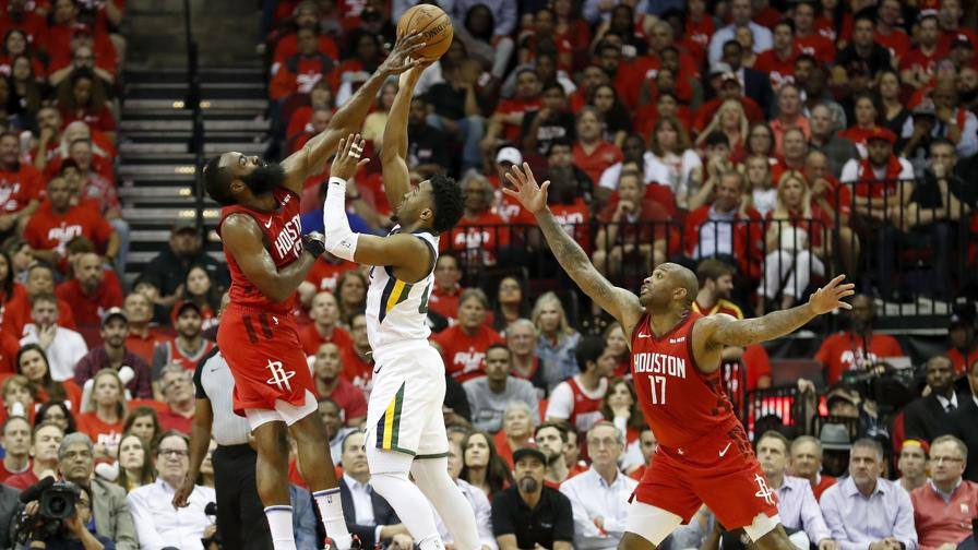 Houston vola in semifinale I Jazz si arrendono 4-1