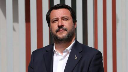 Il Vice Premier Matteo Salvini. Lapresse