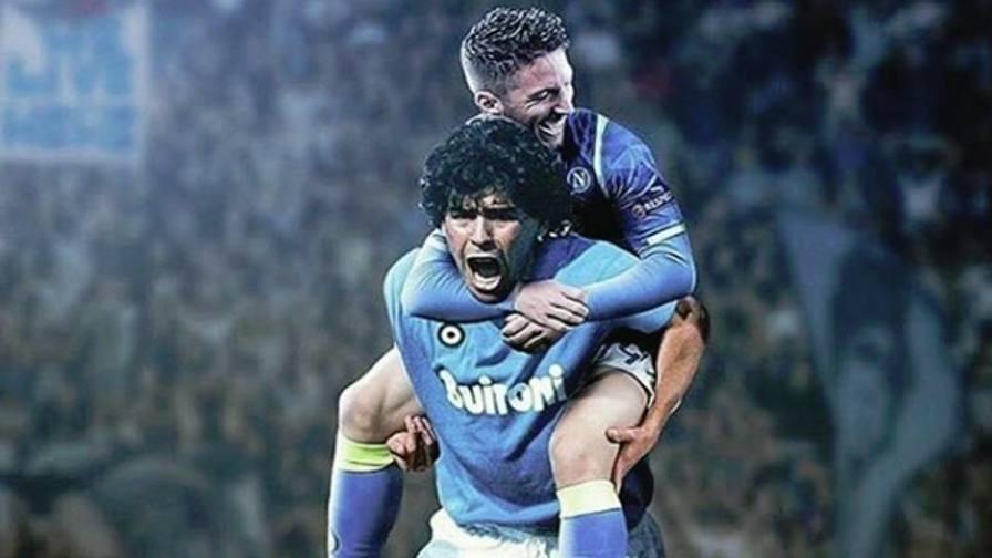 Mertens come Maradona Il Napoli stende il Frosinone