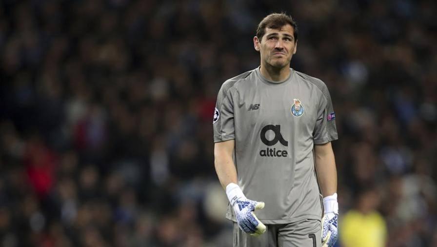 Casillas colpito da infarto Ricoverato, è fuori pericolo
