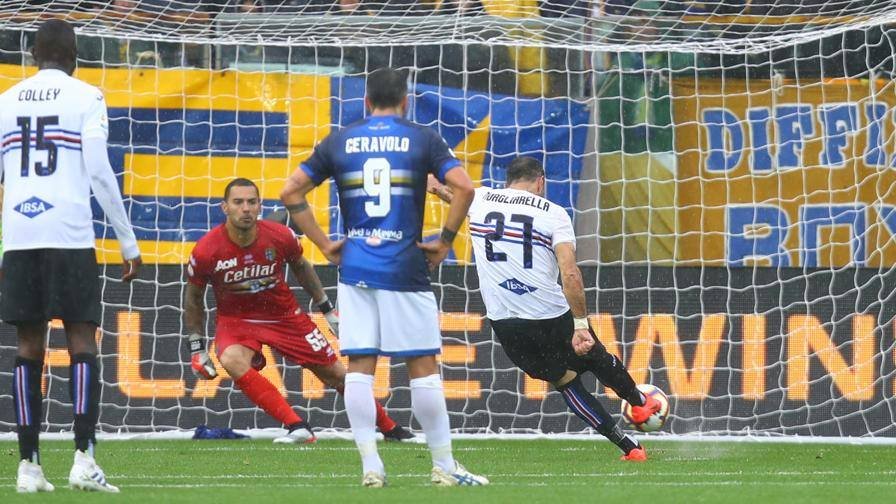 Parma-Sampdoria 3-3: gol e spettacolo al Tardini