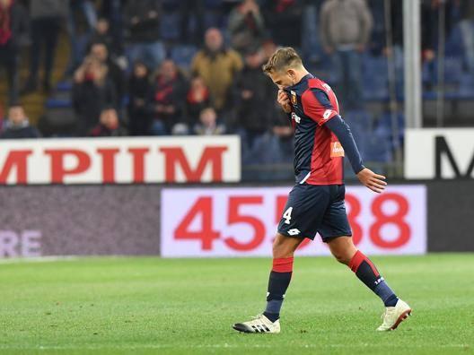 Genoa, nervi tesi di Criscito E un campionato deludente