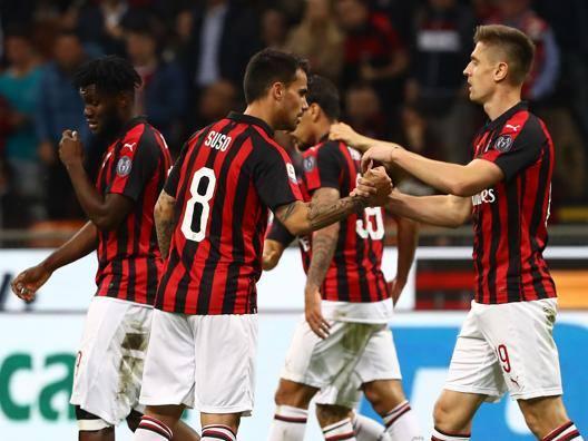 Il Milan spera ancora: è a -3 Tutti a caccia dell'Atalanta