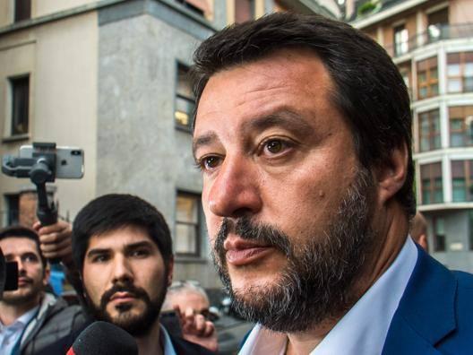 """Salvini fa la pace con Gattuso """"Lo adoro, usciamo a cena"""""""