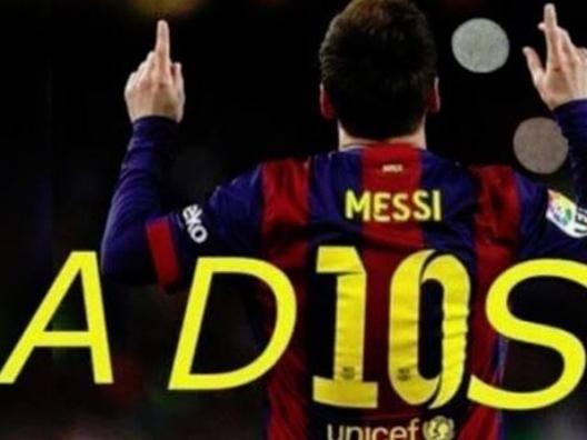 """Rimonta Reds, social in tilt """"Messi, da dies a adios"""""""
