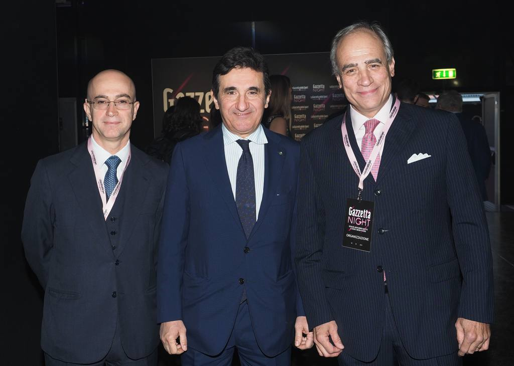 Francesco Carione, Urbano Cairo e Andrea Monti