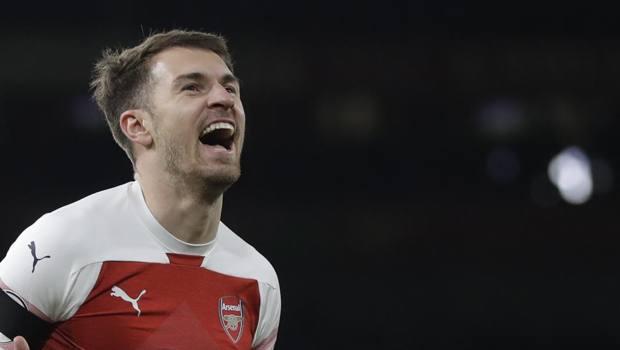 Aaron Ramsey, 28 anni, 8 stagioni all'Arsenal. AP