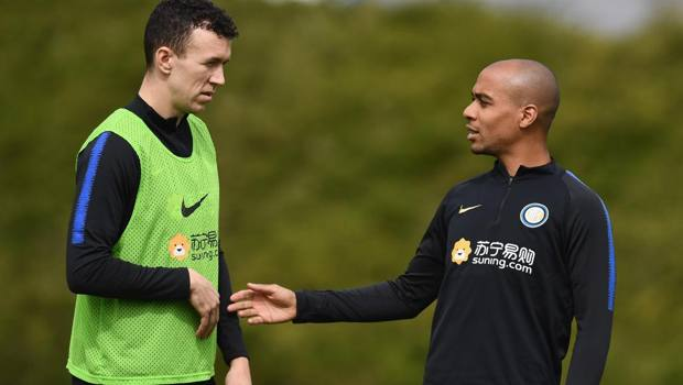Ivan Perisic e Joao Mario. Getty