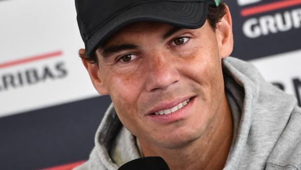 Rafael Nadal, 32 anni. Afp