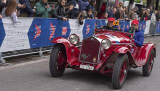 Le Alfa Romeo storiche (e non solo) alla Mille Miglia
