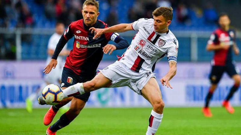 Var-Criscito, il Genoa agguanta il pari all'89': il Cagliari è salvo