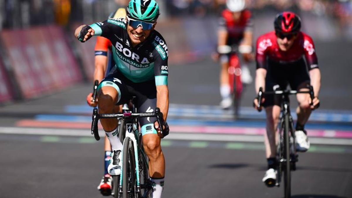 Giro d'Italia, la 12ª tappa a Benedetti, rivoluzione in classifica ...