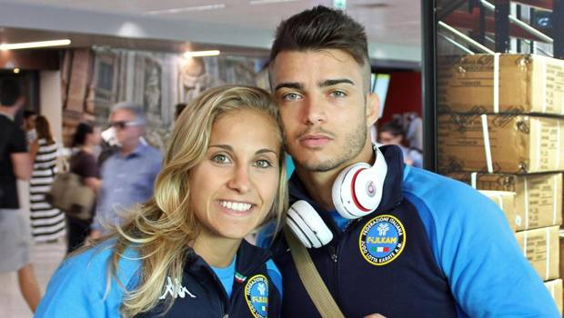 Odette GIuffrida e Fabio Basile: entrambi hanno conquistato il pass per Minsk