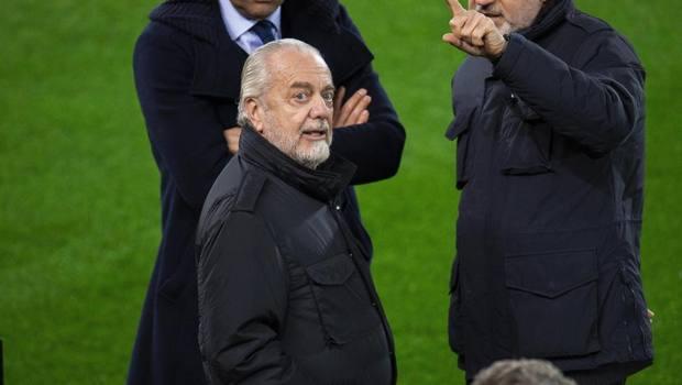 Aurelio De Laurentiis proprietario del Napoli. Epa