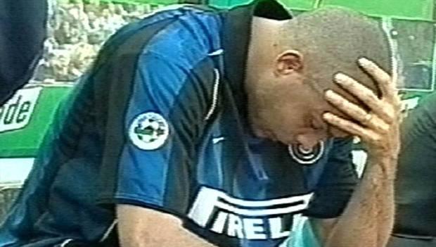 Il pianto di Ronaldo all'Olimpico