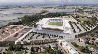 Il nuovo Stadio del Novara