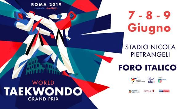 La locandina del Grand Prix di Roma
