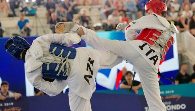 Daniela Rotolo in azione al Grand Prix di Roma. Foto Roberto Di Tondo