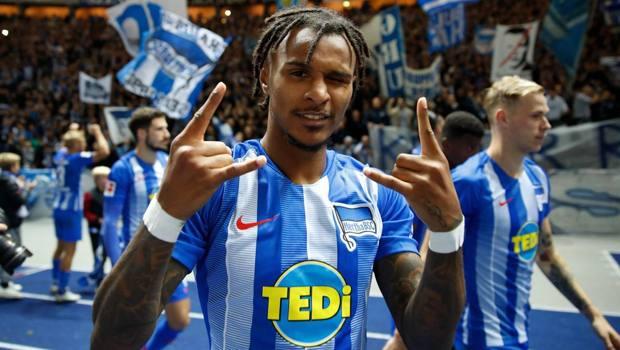 Valentino Lazaro, 23 anni, esterno dell'Hertha. Afp