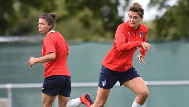 Bartoli e Girelli in allenamento