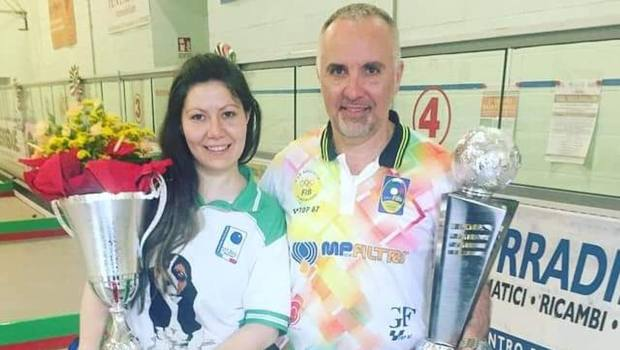 Stefania Bassotto con Gianluca Formicone