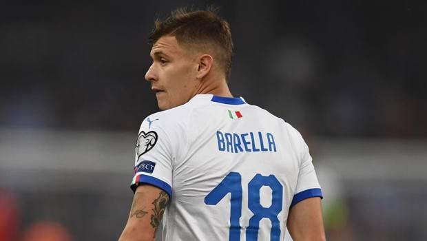 Nicolò Barella, 22 anni, centrocampista del Cagliari