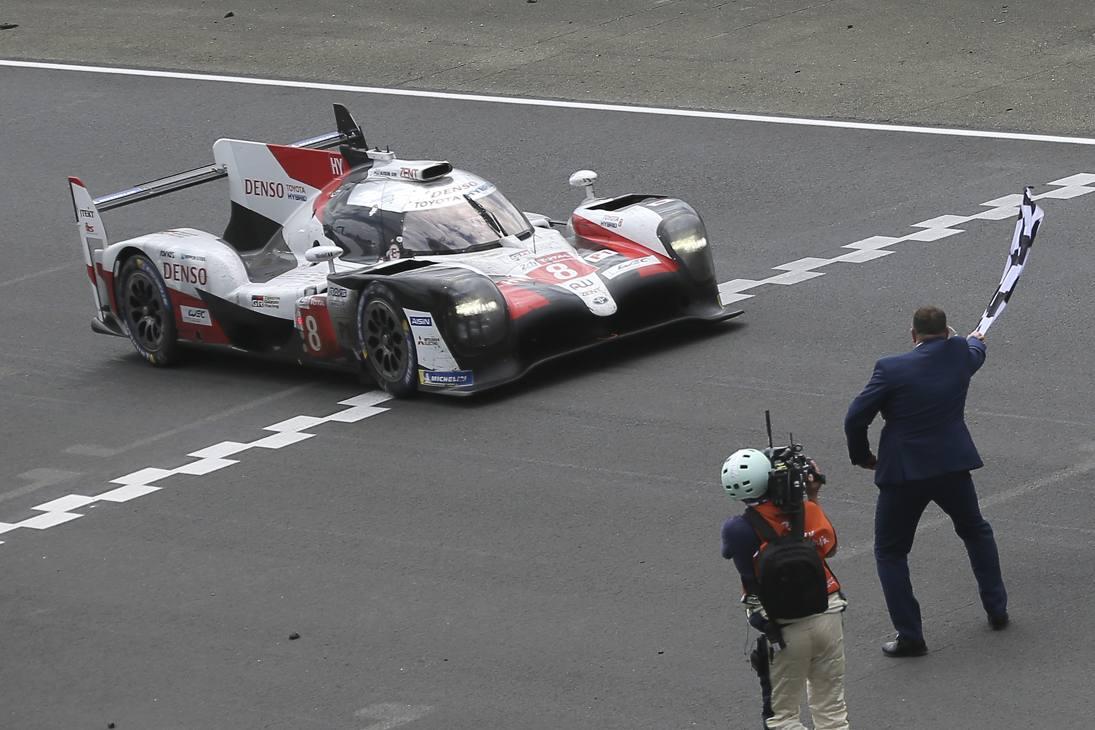 L'87ª edizione della 24 Ore di Le Mans è stata vinta dalla Toyota TS050 Hybrid numero 8 di Fernando Alonso, Sebastien Buemi e Kazuki Nakajima. Ap