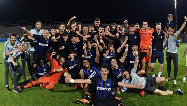 la festa dell'Inter Under 17. Getty