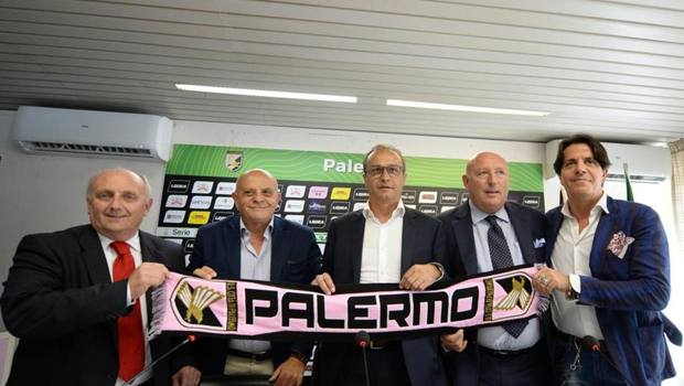 La nuova struttura societaria del Palermo col tecnico Marino