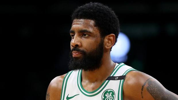 Kyrie Irving, 27 anni, a Boston dal 2017. Afp