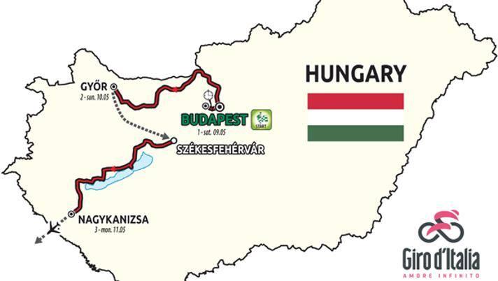 Calendario Corse Ciclistiche 2020.Giro D Italia 2020 Svelate Le Prime Tre Tappe In Ungheria