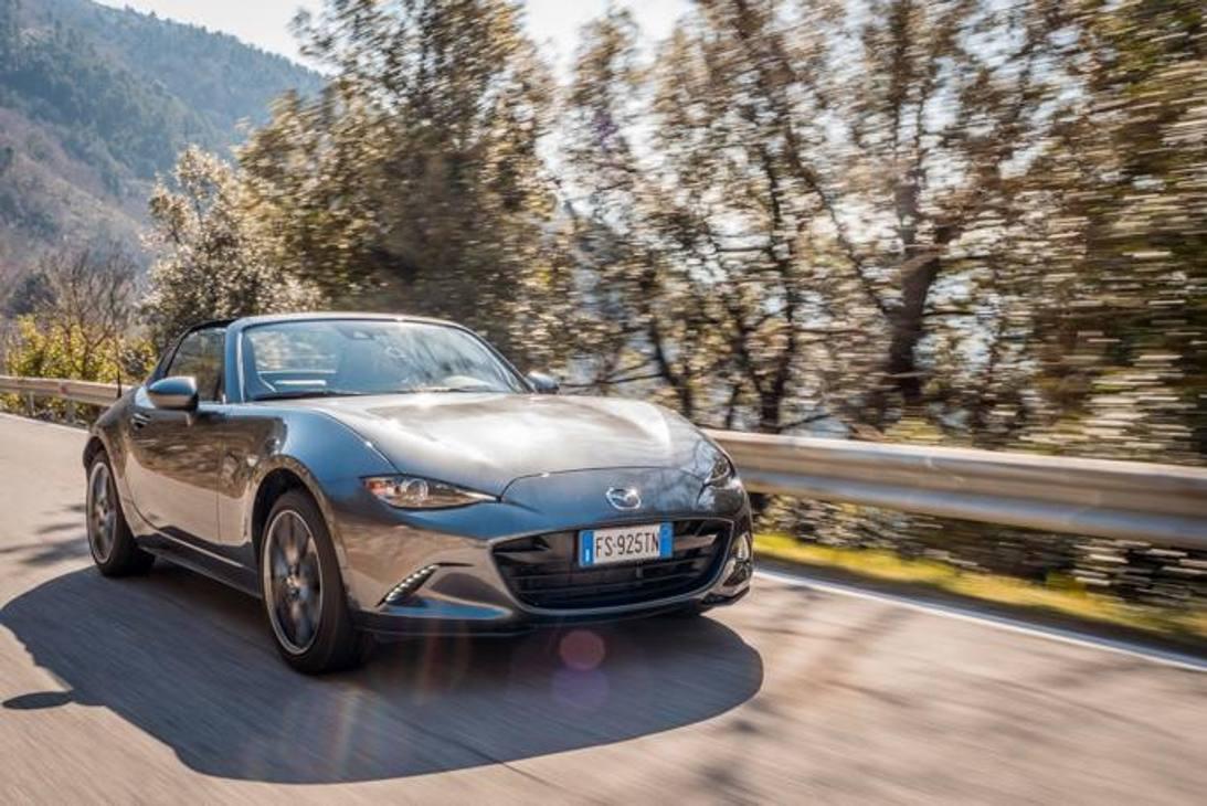 Mazda MX-5 RF 2019 - prova su strada