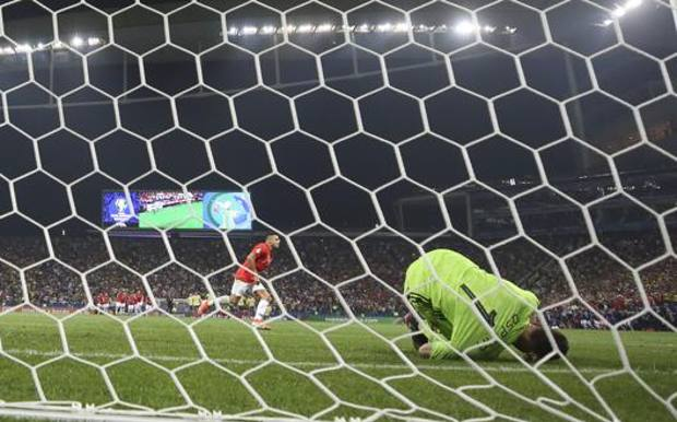 6149909092a68e Cile avanti di rigore, decide Sanchez. Colombia tradita da Tesillo ...