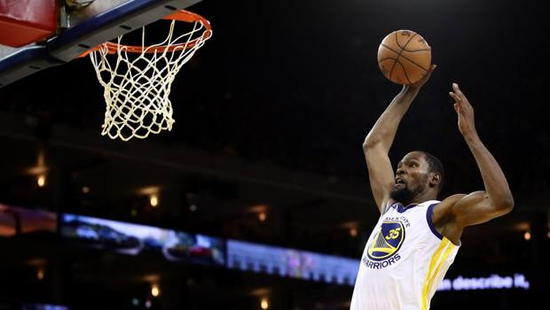 Kevin Durant, 30 anni. Afp