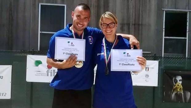 Davide Sari e Caterina Venturini